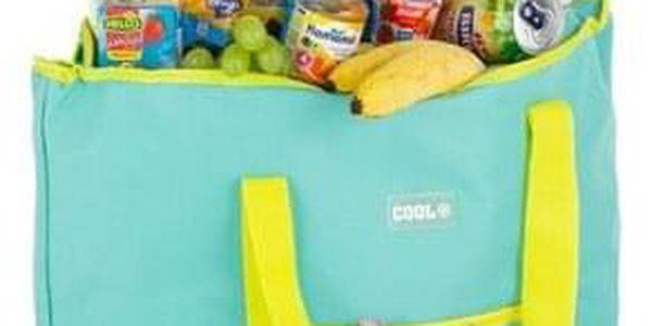 Kvalitní chladící taška COOL BAG světle zelená