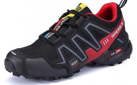 Pánská obuv Garry - Černá1_velikost č. 46 - dodání do 2 dnů