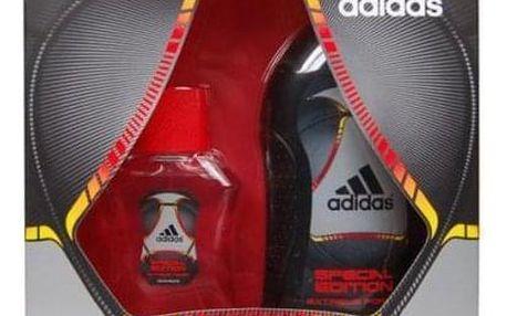 Adidas Extreme Power dárková kazeta pro muže toaletní voda 50 ml + sprchový gel 250 ml
