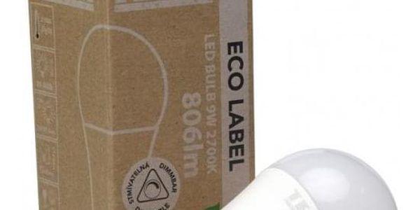 Žárovka LED Tesla klasik stmívatelná, 9W, E27, teplá bílá2