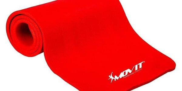 Movit Gymnastická podložka 183 x 60 x 1 cm - červená4