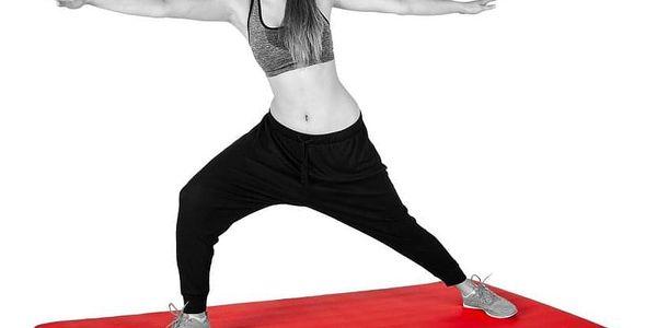 Movit Gymnastická podložka 183 x 60 x 1 cm - červená5