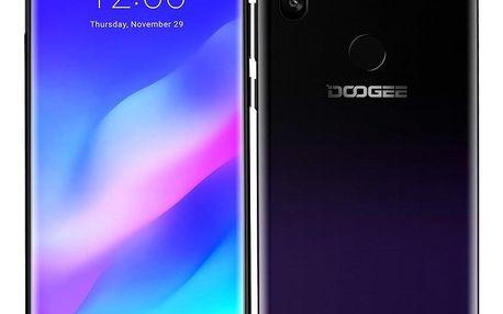 Mobilní telefon Doogee Y8 Plus fialový (DGE000402)