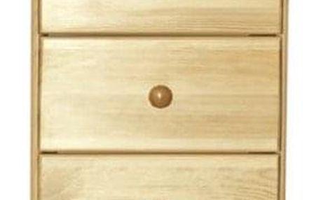 Noční stolek Tina S3 borovice