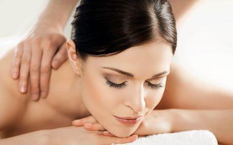Relaxační masáž zad, krku a šíje dle výběru