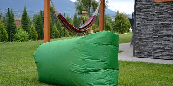 Sedací vak Lazy Bag HooUp dark green3