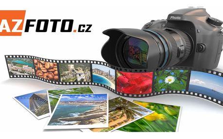 Tisk 10 velkoformátových fotografií ve velikostech A4 nebo A3