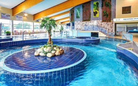 Radovánky v aquaparku Kravaře pro dva i rodinu