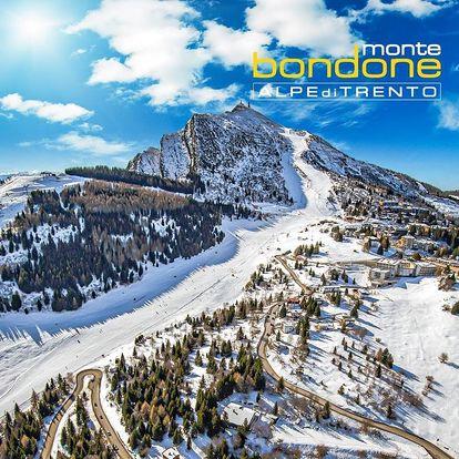 5denní Monte Bondone se skipasem   Hotel Augustus***   Doprava, ubytování, polopenze a skipas