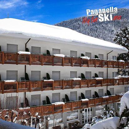 5denní Paganella se skipasem   Hotel Miralago*** - pouze pro dospělé   Doprava, ubytování, polopenze a skipas