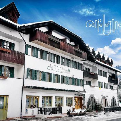 5denní Falcade se skipasem   Hotel Orsa Maggiore***   Doprava, ubytování, polopenze a skipas