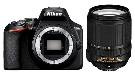Digitální fotoaparát Nikon D3500 + 18-140 AF-S VR (VBA550K004) černý Dárkový poukaz Nikon 500 Kč + DOPRAVA ZDARMA