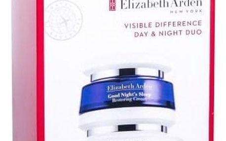 Elizabeth Arden Visible Difference dárková kazeta pro ženy denní pleťová péče 100 ml + noční pleťová péče Good Night´s Sleep 50 ml