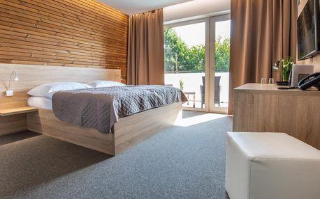 Podzim v termálech Malé Bielice v novém hotelu s polopenzí či plnou penzí