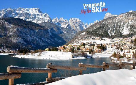 5denní Paganella se skipasem | Hotel Aurora Paganella*** | Doprava, ubytování, polopenze a skipas