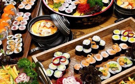 Sushi sety v Restauraci 168: 24 až 50 rolek