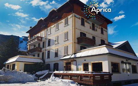 5denní Aprica se skipasem | Hotel Posta*** | Doprava, ubytování, polopenze a skipas