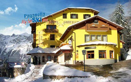 5denní Paganella se skipasem | Hotel Santellina*** | Doprava, ubytování, polopenze a skipas