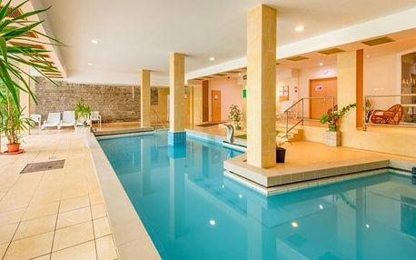 Hévíz: Hotel Fit Hévíz s neomezeným wellness s termální vodou + polopenze