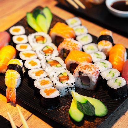 Vietnamské menu pro 1 či 2 nebo 30 ks sushi