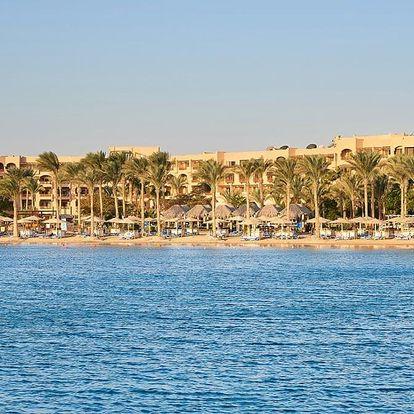 Egypt - Hurghada na 8 dní, polopenze s dopravou letecky z Prahy