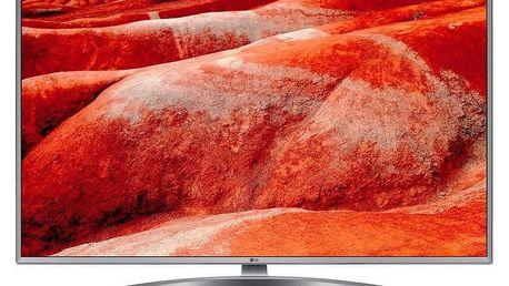 Televize LG 43UM7600 stříbrná