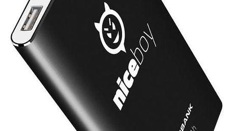 Niceboy 4000 mAh černá (power-4k)