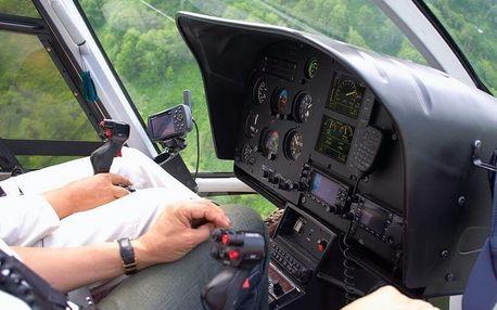 Vyhlídkový výlet vrtulníkem