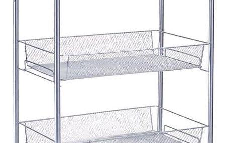 Univerzální vozík na kolečkách, 3patra, ZELLER
