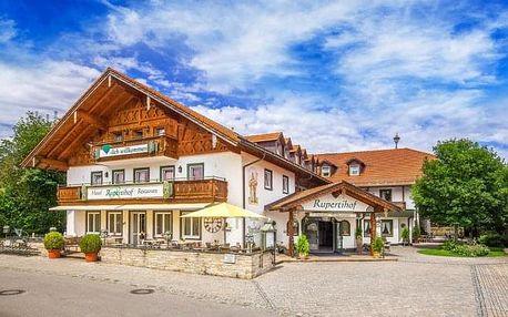 Wellness pobyt v Hotelu Rupertihof u Salzburgu s polopenzí a vstupem do lázní