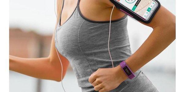 Pouzdro na mobil sportovní Celly Armband XXL růžové (ARMBANDXXLPK)2