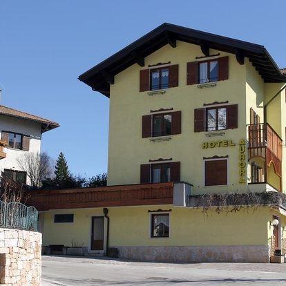 8denní Paganella se skipasem   Hotel Aurora – Molveno***   Ubytování, Polopenze a skipas