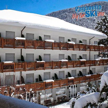 4-8denní Paganella se skipasem   Hotel Miralago – pouze pro dospělé osoby***   Ubytování, Polopenze a skipas