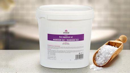 Živá magneziová sůl na přípravu léčivých koupelí