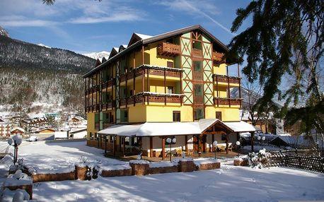 4-8denní Paganella se skipasem | Hotel Dal Bon*** | Ubytování, polopenze a skipas