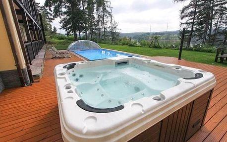 Orlická přehrada v apartmánech Yacht Club Radava s polopenzí, bazénem a saunou