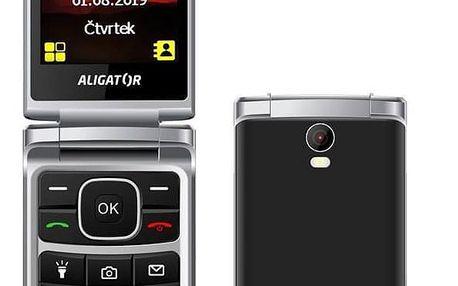 Aligator V710 Senior Dual SIM černý (AV710BS)
