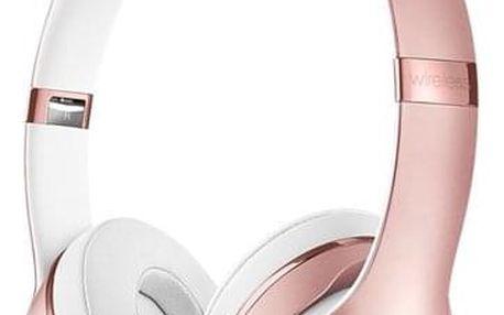 Sluchátka Beats Solo3 Wireless On-Ear - růžově zlaté (mnet2ee/a)