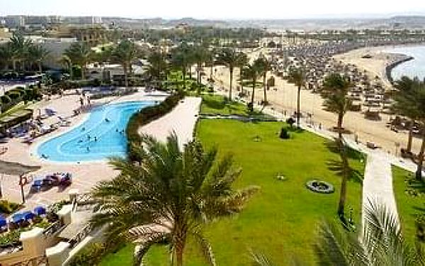 Hotel Madinat Coraya Jaz Lamaya Resort, Marsa Alam, letecky, all inclusive2
