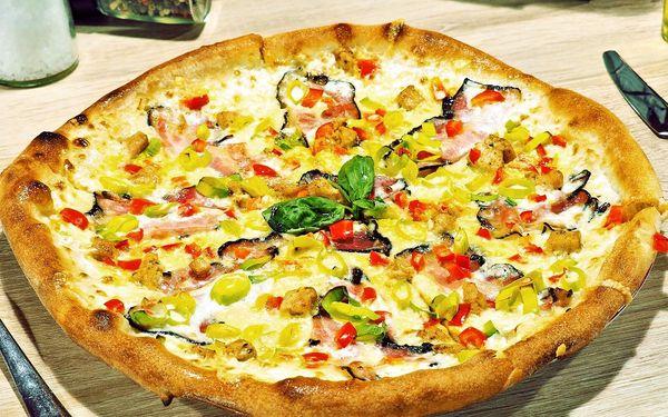 Křupněte si: pizza, Caesar salát i oboje pro 2 os.