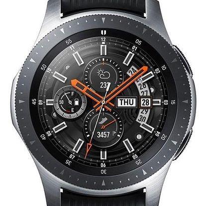 Samsung Galaxy Watch 46mm LTE stříbrné (SM-R805FZSATMZ)