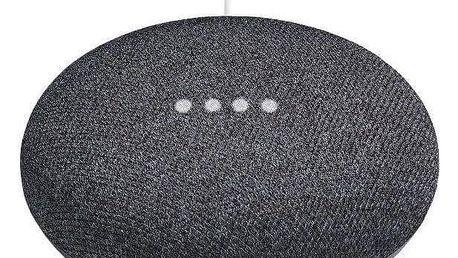 Google Home mini Charcoal černý