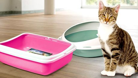 Otevřené kočičí záchody Argi v mnoha variantách