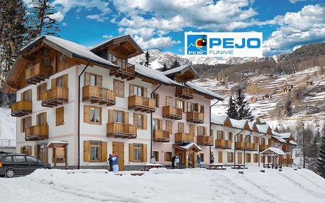 5denní Pejo se skipasem | Hotel Aurora Pejo*** | Denní přejezd | Doprava, ubytování, polopenze a skipas