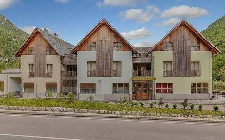 Slovinsko - Julské Alpy na 3 dny, snídaně v ceně