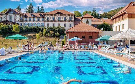 Parádfürdő, Erzsébet Park Hotel*** v krásné přírodě s neomezeným wellness