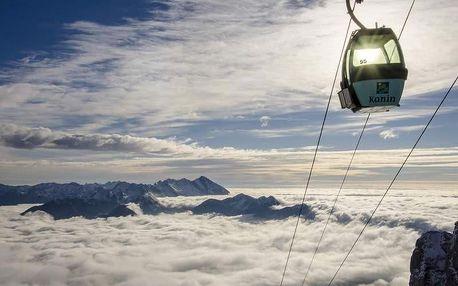 Slovinsko - Julské Alpy na 4 dny, snídaně v ceně