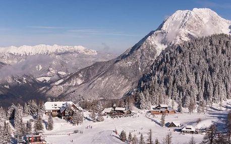 4denní Slovinsko se skipasem | Hotel Krvavec*** na sjezdovce | Polopenze, Wellness a skipas v ceně