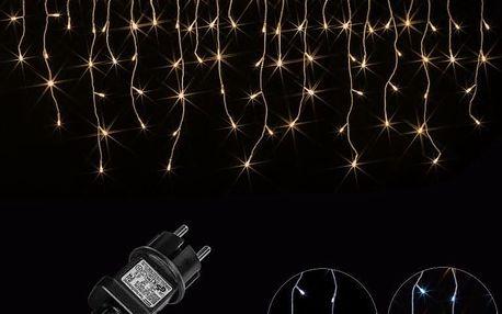 Voltronic 2056 Vánoční světelný déšť 600 LED teple bílá - 15 m