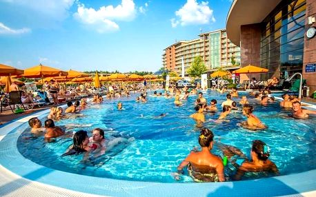 Budapešť, Aquaworld Resort**** s wellness a aquaparkem